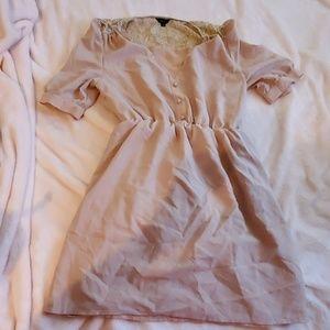 Jario Preppy Nude Dress Size 10